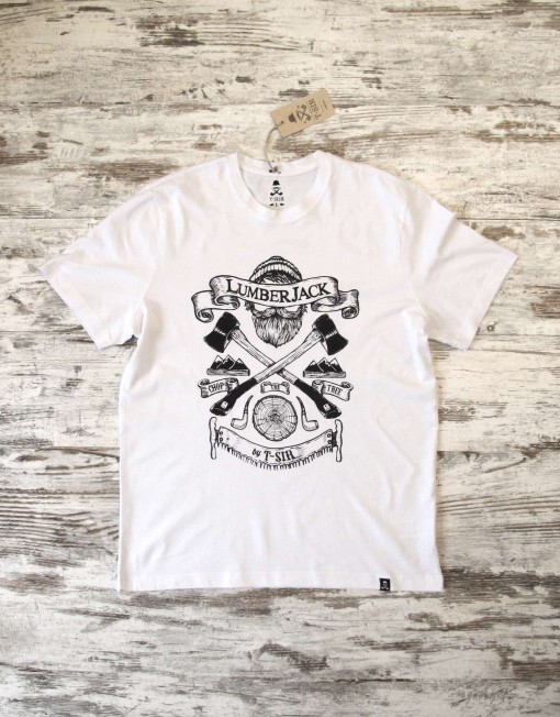 camiseta_hombre_lumberjack_blanca