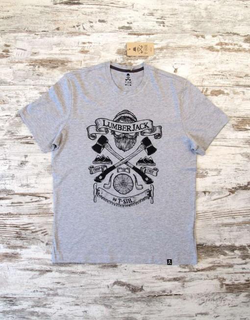 camiseta_hombre_lumberjack_gris